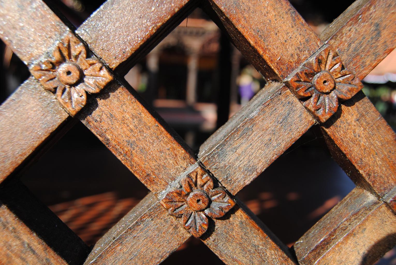 dřevěný plot3