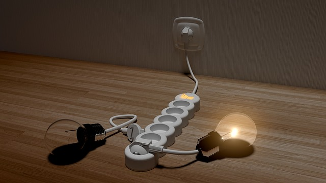 žárovky a prodlužovačka