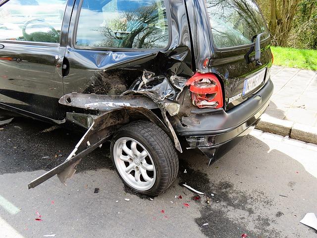 lehká dopravní nehoda